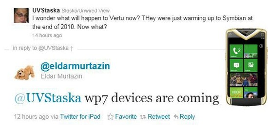 vertuwp7 Copiar Nokia añadirá Windows Phone 7 en la gama de lujo Vertu